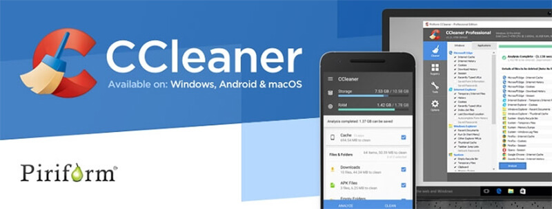 CCleaner Banner - بنر سی کلینر