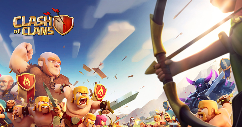 Clash of Clans Banner - بنر کلش آو کلنز
