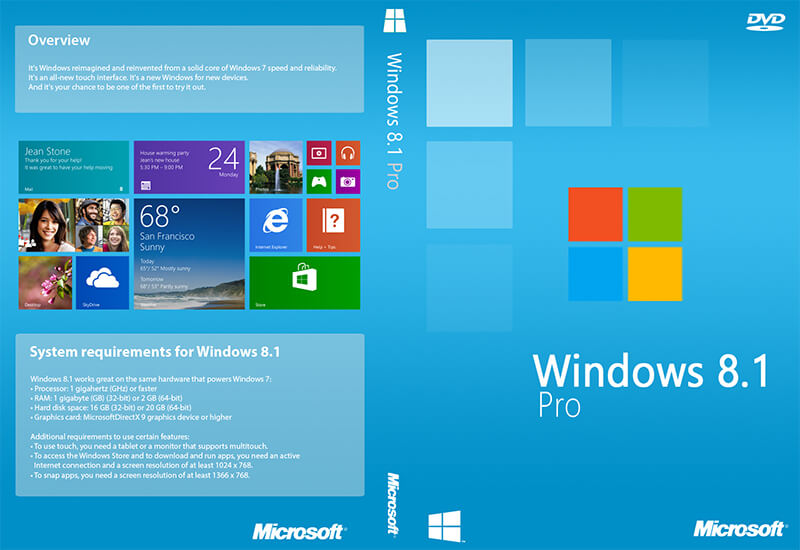 Microsoft Windows 8.1 Pro Banner - بنر مایکروسافت ویندوز 8.1 پرو