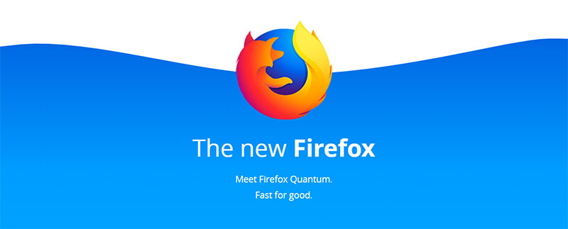 Mozilla Firefox Quantum Banner - بنر موزیلا فایرفاکس کوآنتوم