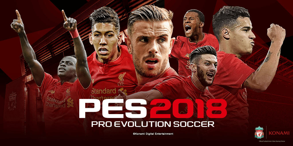 Pro Evolution Soccer 2018 Cover - کاور بازی PES 2018