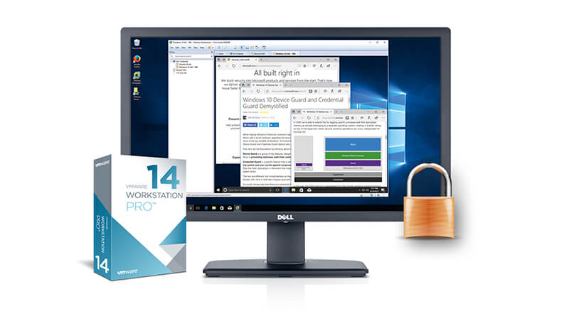 VMware Workstation Pro 14 Banner - بنر وی ام ور ورک استیشن پرو 14
