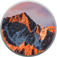 Apple macOS Sierra Logo - لوگوی مک او اس سیرا