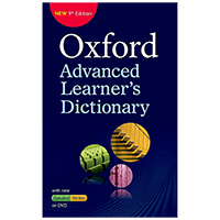 Oxford Advanced Learner's Dictionary 9th Edition Logo - لوگوی دیکشنری Oxford Advanced Learner's Dictionary 9th Edition