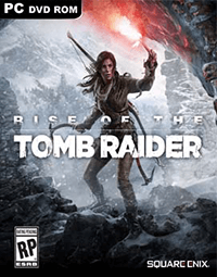 Rise of The Tomb Raider Cover - کاور بازی Rise of The Tomb Raider